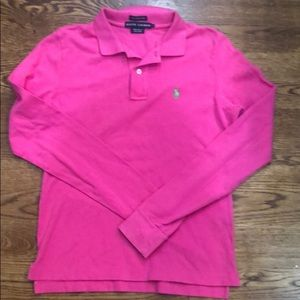 Ralph Lauren Skinny Polo Size Large